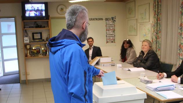 Wahltag in der Steiermark (Bild: Christian Jauschowetz)
