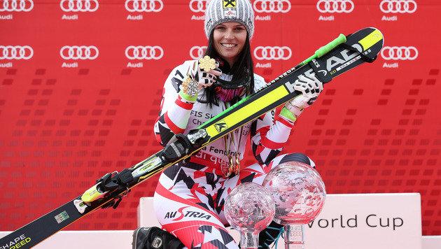 """""""Anna Fenninger ist Paul Scharner vom Skisport"""" (Bild: GEPA)"""
