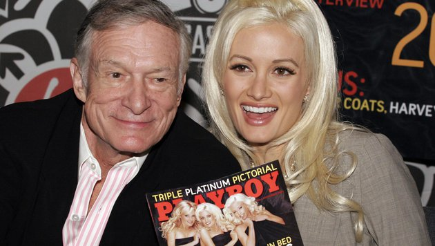 Holly Madison und Hugh Hefner (Bild: Viennareport)