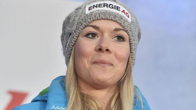 Ski-Crosserin Andrea Limbacher (Bild: APA/HERBERT PFARRHOFER)