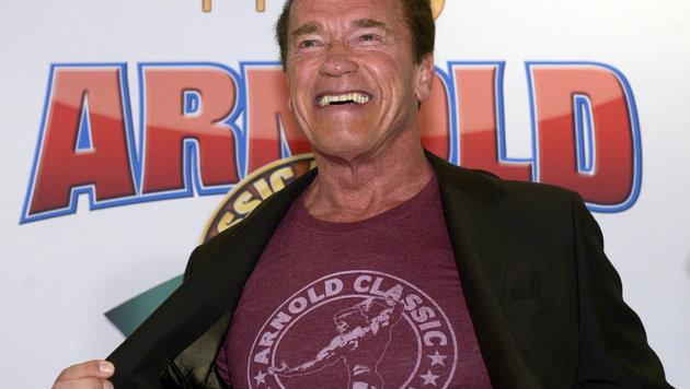 Arnold Schwarzenegger (Bild: EPA)