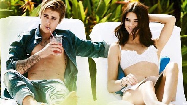 Kendall Jenner und Justin Bieber (Bild: Viennareport)