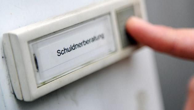 Schuldnerberatung Kärnten fehlten 65.000 Euro (Bild: APA/dpa/Angelika Warmuth)