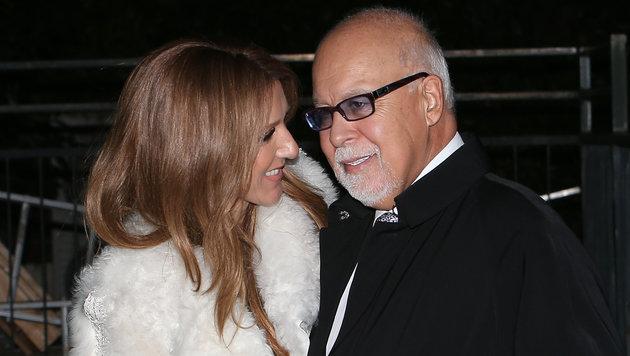 Celine Dion und ihr René Angélil (Bild: Viennareport)