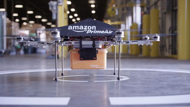 Grazer Forscher lehren Amazon-Drohnen das Sehen (Bild: Amazon)