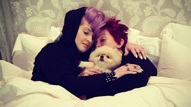 Kelly Osbourne mit ihrer Mutter Sharon (Bild: Viennareport)
