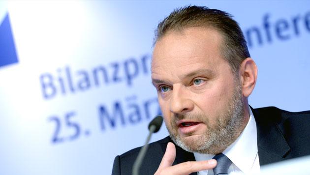 BayernLB-Chef Johannes-Jörg Riegler (Bild: APA/dpa/Andreas Gebert)