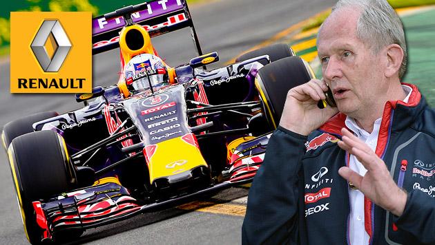 """Renault attackiert Red Bull: """"Lügner!"""" (Bild: APA/EPA/SRDJAN SUKI, APA/HANS KLAUS TECHT)"""