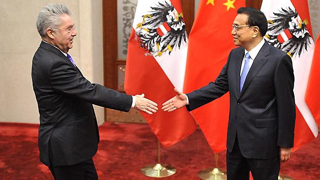 China erlaubt Einfuhr von Fleisch aus Österreich (Bild: APA/EPA/PARKER SONG)