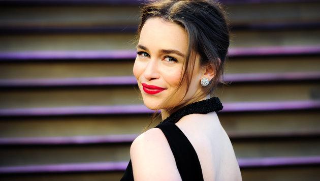 Emilia Clarke hat eigentlich dunkle Haare. (Bild: Viennareport)