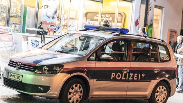 Bei dieser Tankstelle in Linz kam es zum Überfall samt Schussabgabe. (Bild: APA/FOTOKERSCHI.AT/WERNER KERSCHBAUMMAYR)