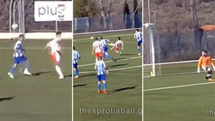 Zaubertor! Erst Ferserl, dann Volley ins Kreuzeck (Bild: YouTube.com)