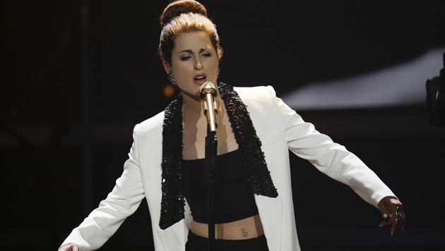 Deutschlands Song-Contest-Teilnehmerin Ann Sophie (Bild: AP)