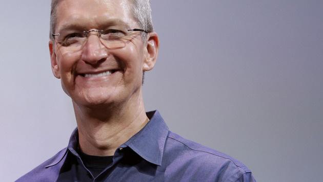 Apple-Chef Tim Cook will ganzes Vermögen stiften (Bild: AP)