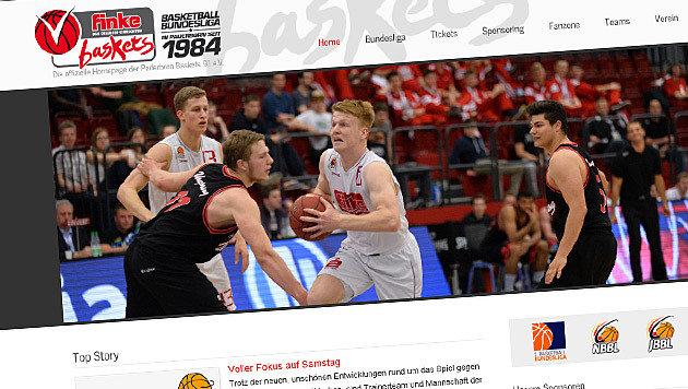 Basketballteam droht Abstieg wegen Windows-Update (Bild: paderborn-baskets.de)
