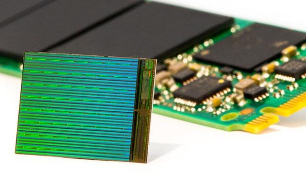 Neuer Flashspeicher speichert dreimal mehr Daten (Bild: Intel)