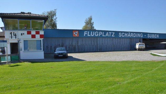 Am Flugplatz in Schärding-Suben gibt es Wirbel wegen gefälschter Mails. (Bild: Internet)