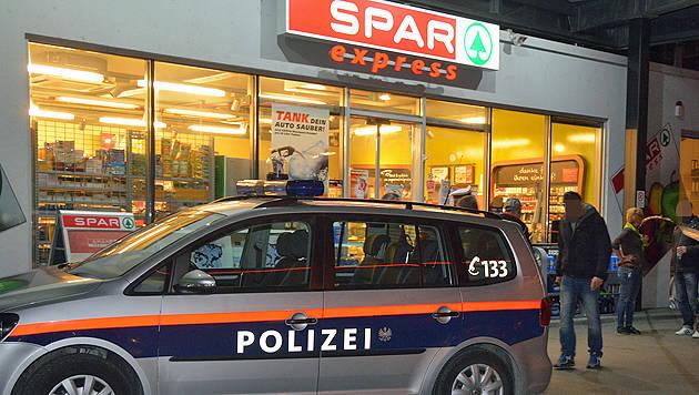 Die Tankstelle in Linz (Bild: Johann Haginger)