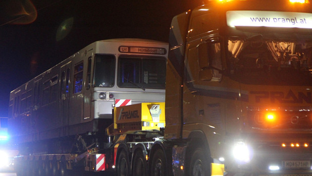 Wiener Feuerwehr bekam ausrangierte U-Bahn-Waggons (Bild: APA/LICHTBILDSTELLE MA68/UNBEKANNT)