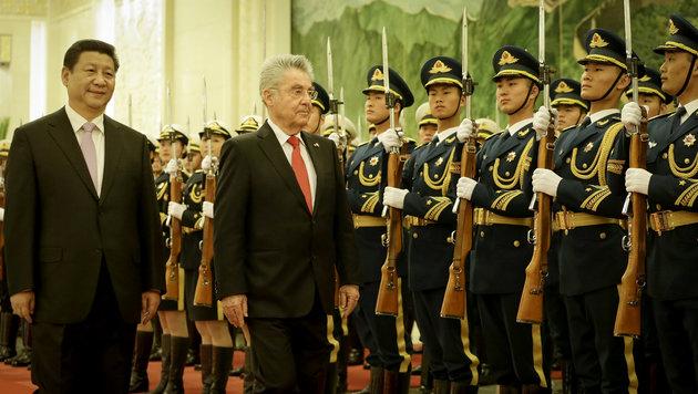 Winter-Olympia: China bittet Österreich um Hilfe (Bild: APA/BUNDESHEER/PETER LECHNER)