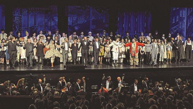 Das Publikum quittierte die Verismo-Premieren mit nicht enden wollendem Applaus. (Bild: Franz Neumayr/MMV)