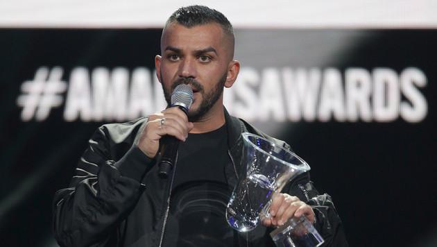 Rapper Nazar schimpfte über die österreichische Politik. (Bild: APA/GEORG HOCHMUTH)