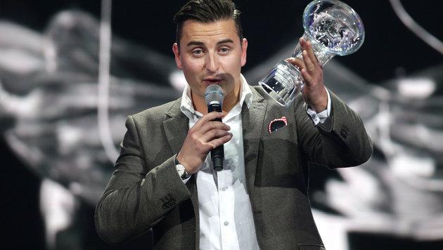 Andreas Gabalier sorgte für den Aufreger bei den Amadeus Awards. (Bild: APA/GEORG HOCHMUTH)