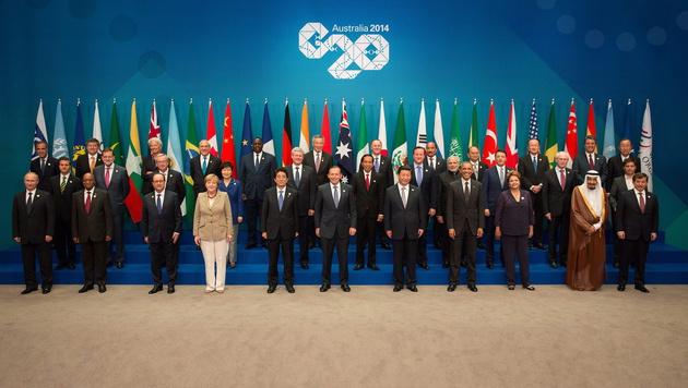 Daten von G20-Chefs an Fußballfunktionär geschickt (Bild: APA/EPA/ANDREW TAYLOR)