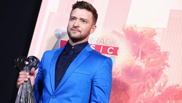 Justin Timberlake schwärmte vom ersten ungeborenen Baby mit Jessica Biel. (Bild: John Salangsang/Invision/AP)