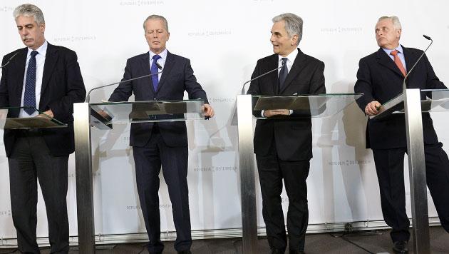Staatsausgaben: Warten auf rigorose Reformen (Bild: APA/HANS KLAUS TECHT)