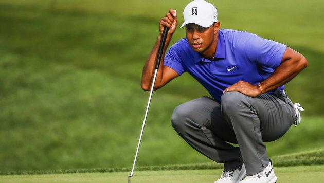 Tiger Woods erstmals seit 1996 nicht in Top 100 (Bild: APA/EPA/TANNEN MAURY)