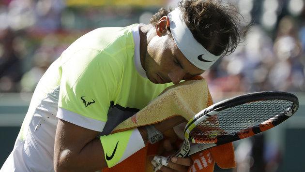 Verunsicherter Rafa Nadal unterliegt Verdasco (Bild: AP)