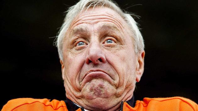Johan Cruyff (Bild: APA/EPA/KOEN VAN WEEL)