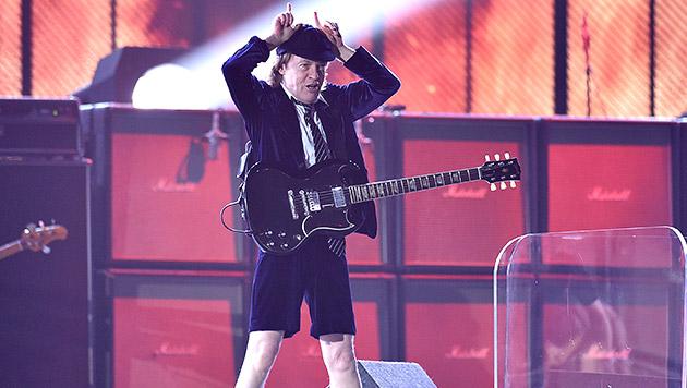 AC/DC-Star Angus Young feiert 60. Geburtstag (Bild: AP)