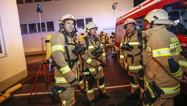 Großbrand wütete in Mozartkugel-Fabrik in Salzburg (Bild: MARKUS TSCHEPP)