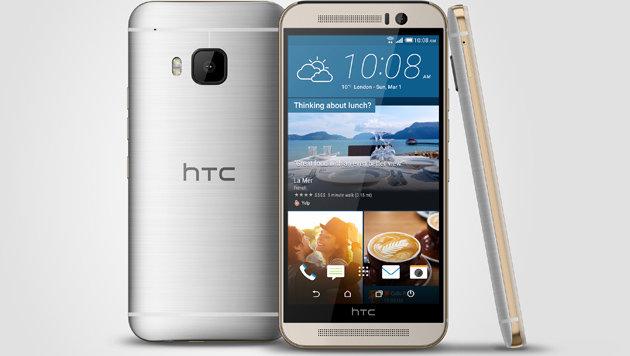 HTC One M9 (Bild: HTC)