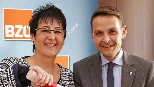 Johanna Trodt-Limpl löst Gerald Grosz an der BZÖ-Spitze ab. (Bild: APA/GERT EGGENBERGER)