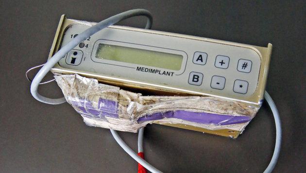Das alte Steuergerät für den Schrittmacher (Bild: Martin A. Jöchl)