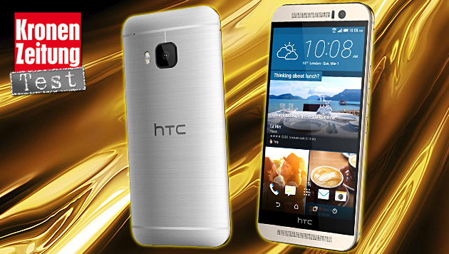 One M9: Das kann HTCs neues Android-Flaggschiff (Bild: HTC, thinkstockphotos.de, krone.at-Grafik)