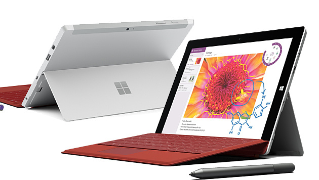 Surface 3: Neues Tablet mit vollwertigem Windows (Bild: Microsoft)