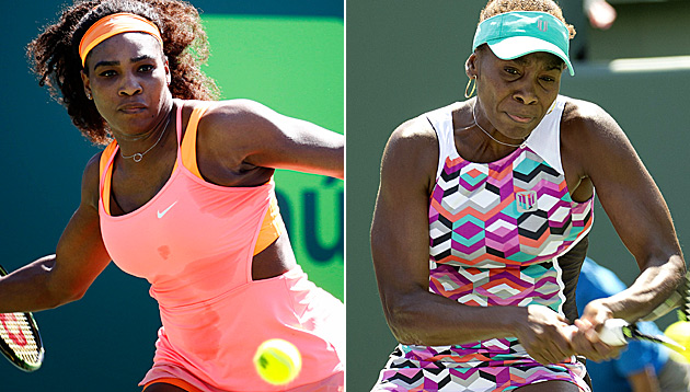Williams-Schwestern in Miami im Viertelfinale (Bild: AP)