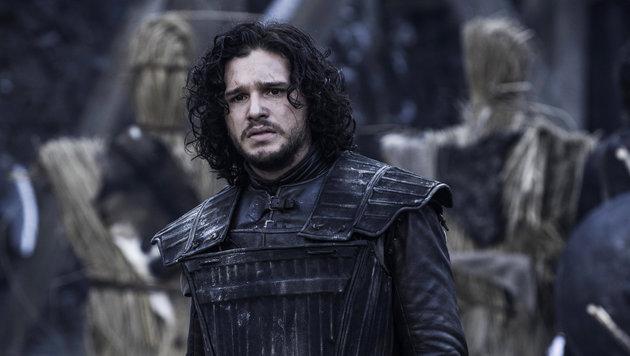 """Kit Harington als Jon Schnee im """"Game of Thrones"""" (Bild: Viennareport)"""
