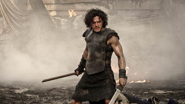 "Kit Harington in einer Szene aus ""Pompeii"" (Bild: Viennareport)"