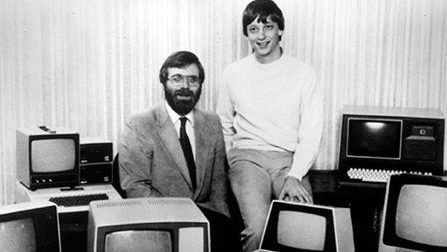Die Microsoft-Gründer Bill Gates und Paul Allen (Bild: Microsoft)