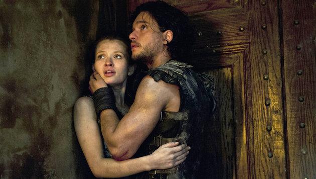 """Kit Harington in einer Szene des Films """"Pompeii"""" (Bild: Viennareport)"""