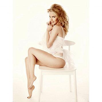 Kylie Minogue ließ sich ihren Popo ebenfalls gut versichern - auf fünf Millionen Dollar. (Bild: Viennareport)