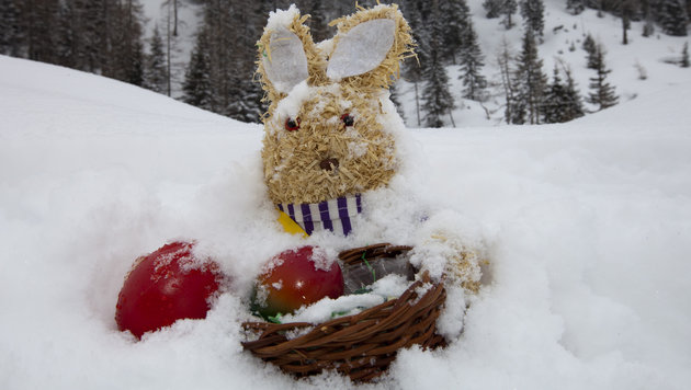 Mehr Schnee zu Ostern als zu Weihnachten (Bild: APA/ROBERT MÜHLANGER/BILDAGENTUR MÜHLANGER)