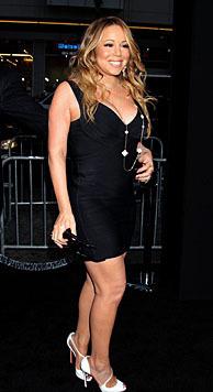 Mariah Carey ließ sich ihre Beine angeblich auf eine Milliarde Dollar versichern. Unglaublich! (Bild: APA/EPA/JIMMY MORRIS)
