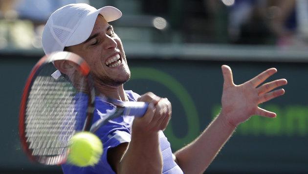 Thiem verpasst in Miami die Sensation gegen Murray (Bild: AP)