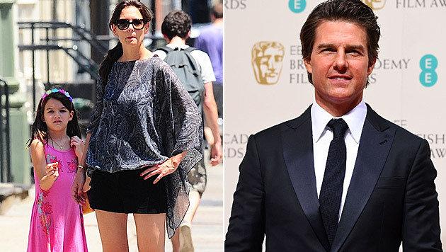 Tom Cruise soll seine Tochter Suri seit eineinhalb Jahren nicht mehr gesehen haben. (Bild: Viennareport, Jonathan Short/Invision/AP)